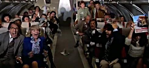 panique à bord d'un avion
